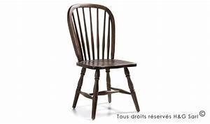 Chaise Bois Vintage : chaise bois vintage loft ~ Teatrodelosmanantiales.com Idées de Décoration