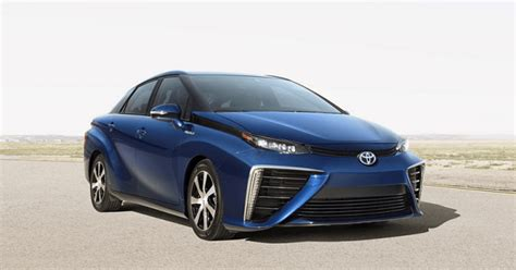 toyota mirai fuel cell specs price design