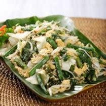 resep membuat urap urap sayur bumbu enak mudah sederhana