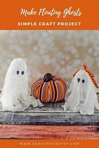 How, To, Make, Floating, Halloween, Cheesecloth, Ghosts