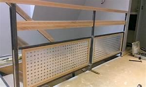 Garde Corps Metal : garde corps rembarde terrasses bois acier aluminium ou ~ Nature-et-papiers.com Idées de Décoration