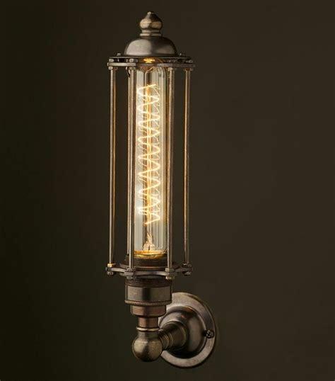 Leuchtet Eine Glühbirne by Eine L 228 Ngliche Gl 252 Hbirne Dient Als Wandleuchte Im