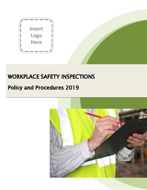 workplace safety inspection policy procedure sample