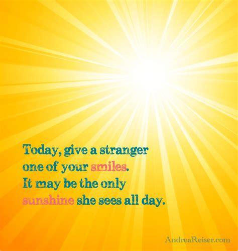 give  stranger    smiles andrea reiser andrea