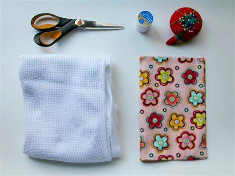 Easy Sewing Project How To Make A Baby Burp Cloth How