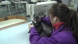 machine a coudre pour canapes en cuir avec fil epais youtube With coudre un canapé en cuir