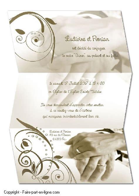 faire part mariage original gratuit à imprimer imprimer faire part mariage cr 233 er faire part naissance