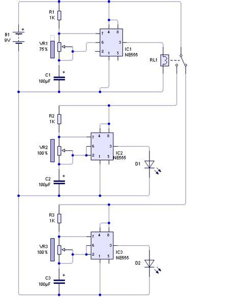 rangkaian flip flop menggunakan ic 555 skema elektro ku apktodownload