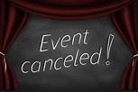Image result for Event canceled