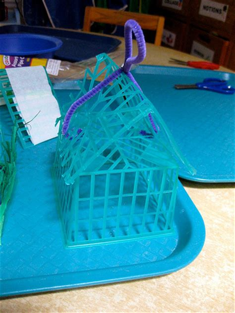 strawberry basket houses fun family crafts