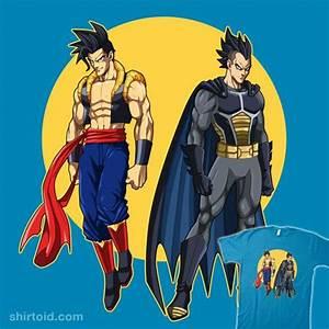 The World's Finest Fusions #Goku #Superman #Vegeta #Batman ...