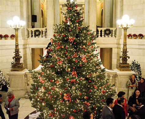 rhode island christmas light displays christmas in the city the state house tree lighting and