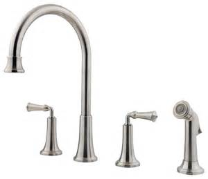4 Kitchen Faucets Price Pfister 475737 Bellport 2 Handle 4 Lead Free Kitchen Faucet Traditional Kitchen