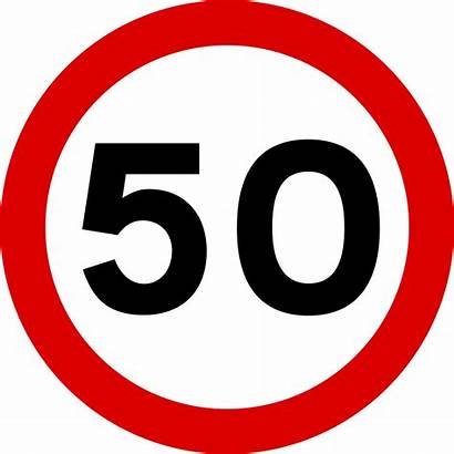 Limit Speed Sign Signs Road Svg Mauritius