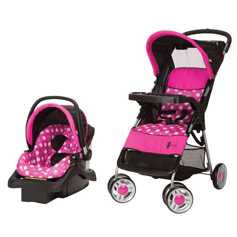 chaise minnie cosco lift stroll travel system minnie dot baby baby