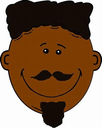 Clipart Brown Face Hair Hari Skin Dark