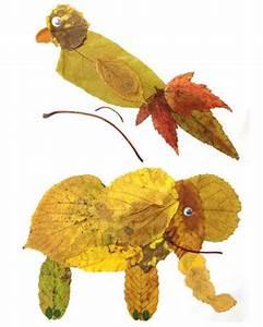 Aus Blättern Basteln : 104 besten herbstbasteln mit kindern bilder auf pinterest ~ Lizthompson.info Haus und Dekorationen