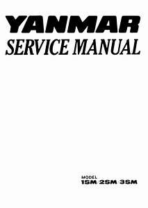 Yanmar 2sm Marine Diesel Engine Service Repair Manual