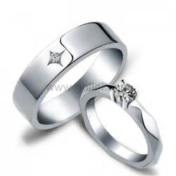 titanium wedding band sets name inscribed diamond wedding rings for and groom