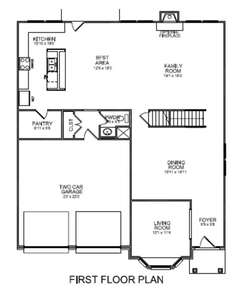 craftsman house plans  walk  pantry