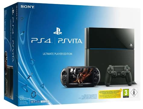 Ps4 And Vita Ultimate Player Console Bundle Is Real, Pack