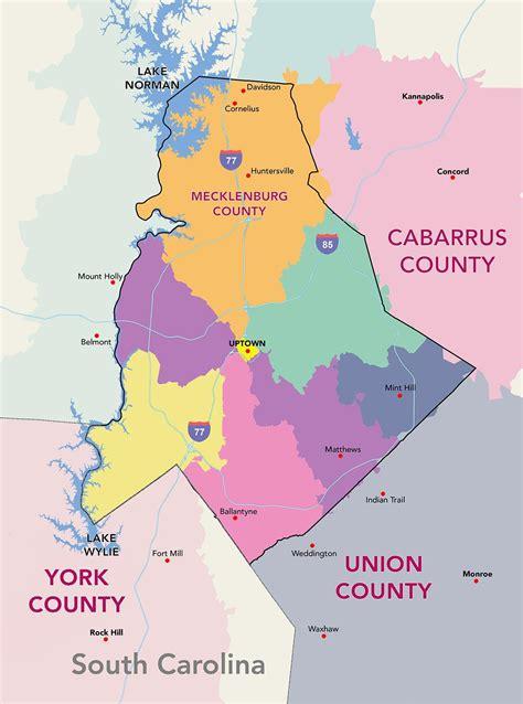 Map Nc Zip Code Charlotte