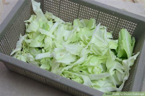 how to steam cabbage how to steam cabbage with pictures wikihow