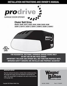 Wayne Dalton Garage Door Opener Manual 3213