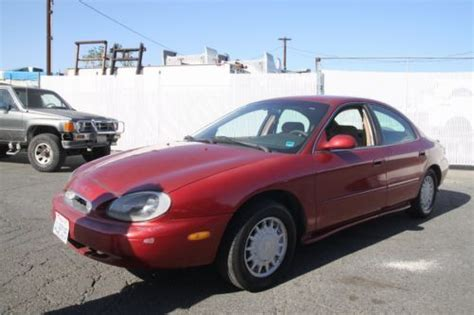 manual repair autos 1996 mercury sable electronic valve timing buy used 1996 mercury sable gs automatic 6 cylinder no reserve in orange california united states