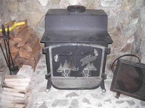 Fisher Free Standing Wood Stove North Saanich & Sidney