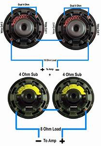 Series Wiring2 Kicker Sub Wiring Diagram