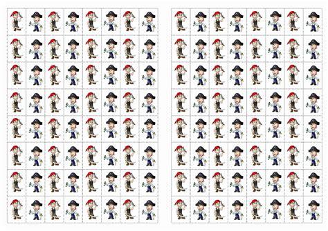 pirate stickers birthday printable