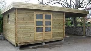 Carport Avec Abri : pergolas bois terrasses bois au sur mesure ~ Melissatoandfro.com Idées de Décoration