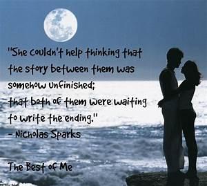 The Best Of Me Nicholas Sparks Quotes. QuotesGram
