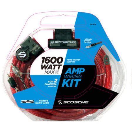 Scosche Kpasd Watt Gauge Car Amplifier Install