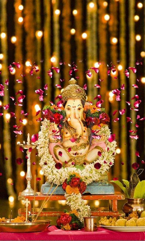 Lord Ganesha Animated Wallpapers For Mobile - lord ganesha live wallpaper hd android apps on play