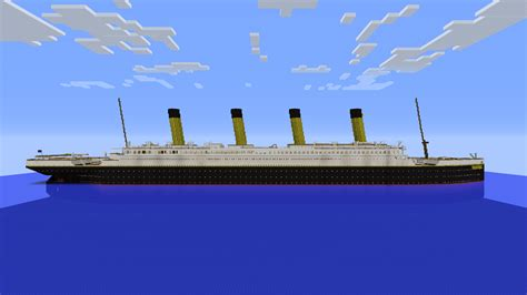 When Did Titanic Sink Date by Building Full 2 1 Scale Titanic Need Help Creative Mode