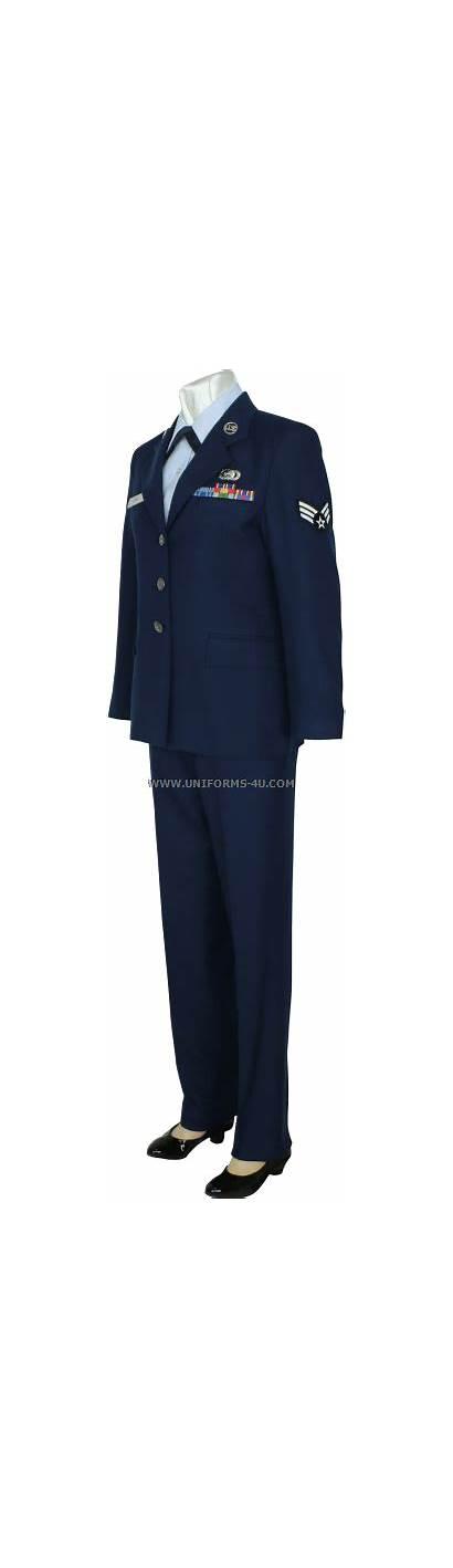 Uniform Enlisted Usaf Female Service Uniforms Force