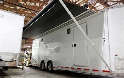 trailer options awning mo great dane trailers