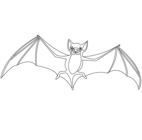 desenho de morcego  grandes asas  colorir