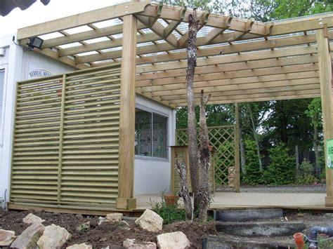 beau construire une terrasse en bois composite 9 pergola bois terrasse bois berriau