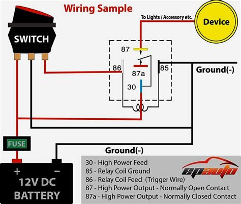 wiring diagram car horn relay bookingritzcarlton info