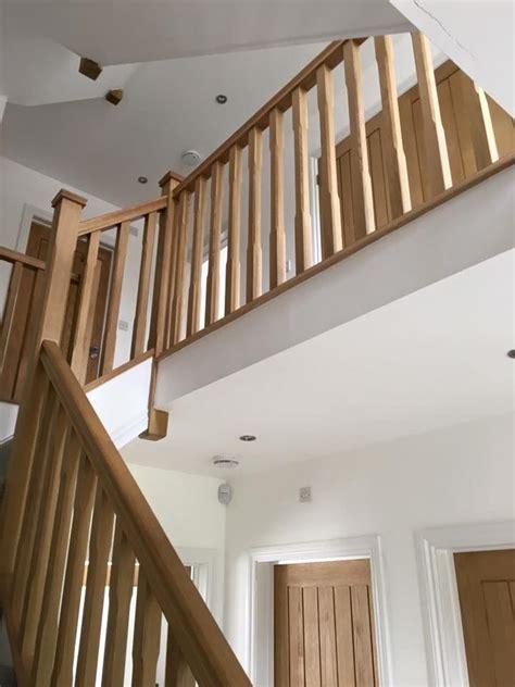 oak banisters best 25 oak handrail ideas on modern stairs