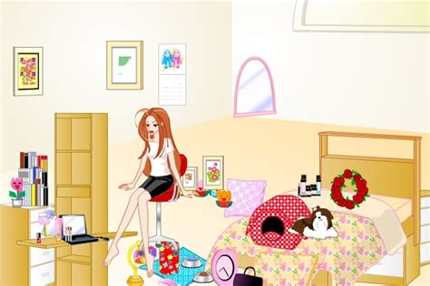 Barbie Bedroom Makeover Game