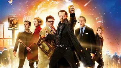 Comedy End Worlds Freeman Martin Poster Pegg
