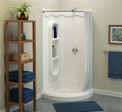 corner shower with curtain shower corner spankin new