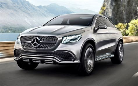 mercedes benz concept coupe suv wallpapers  hd
