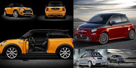 Fiat Abarth Vs Mini Cooper S by 595 Competizione Shifting Gears