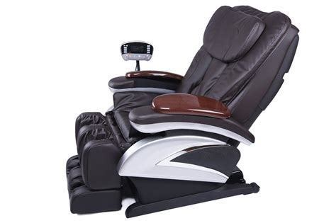 Electric Full Body Shiatsu Massage Chair Ec-06 Ikea Kids Table And Chair Hook On High Circular Sofa Truman Barber Antique Rocking Chairs Value Burnt Orange Leather Dining Bean Bag Lounger Cheap Massage