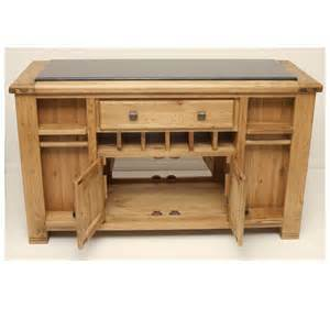 oak kitchen islands oak kitchen island with black granite top danube dan051 ebay